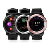 Wholesale Remote Control Gps Navigation - H1 Smart watch GPS navigation SIM 3G network Heart Rate Monitor MTK6572 512MB 4GB Smartwatch for smart your life