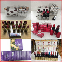 Wholesale Beautiful Mix - NEW kylie Selena Collection MATTE LIPSTICK Fashion Makeup Waterproof Beautiful kylie Cosmetics 12 Color Free Shipping 12Pcs.