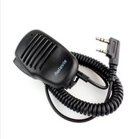 Wholesale Mic Baofeng Uv5r - 2 Pin Mini PTT Speaker MIC For Kenwood Walkie Talkie Accessories for Baofeng UV5R 888S for Quansheng Puxing TYT HYT Radio