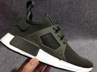 Wholesale Lace Applique Japan - 2017 NMD XR1 III Running Shoes Mastermind Japan Skull Fall Olive green Glitch Black White Blue Camo Pack men womens sports shoes