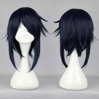 Wholesale K Cosplay Wigs - MCOSER Pomotion 2014 New K Munaka Reisi Classical Design Synthetic 40cm Synthetic Anime Cosplay Wig