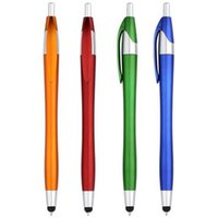 Wholesale student offices online - New10 Pieces Capacitance Pen Mobile Phone Touch Screen Stylus Painting Pen Writing Pens in Useful Office School Stationery