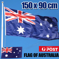 ingrosso bandiera nazionale australia-Bandiera 150 x 90 cm Australia australiana National Heavy Duty Outdoor