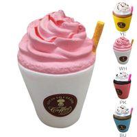 Wholesale Ma Year - MA Jumbo Kawaii Cream Coffee Cup Soft Squishy Slow Rising Cream Scented Fun Kid Toy Decompression Toy