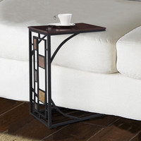 Wholesale Coffee Tray Side Sofa Table Ottoman Couch Room Console Stand End TV Lap Snack
