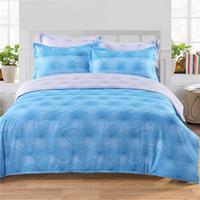 Wholesale Duvet Button - 3D Button Diamond Bedding Set Of 2PC-3PC Duvet Cover Set Quilt Cover Pillowcase Twin Queen King Size Factory Price