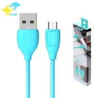Wholesale Micro Usb Data Cable Retail - 2016 Remax USB Cable Fast Charging Data Sync Cable with Retail Package For android samsung