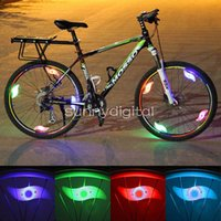 Vogue Bright Bike Bicycle Ciclismo Carro Wheel Tire Tire LED Light Lamp