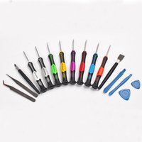 Wholesale Tool Kits For Cellphones - 16 in 1 Multi-Bit Repair Tools Kit Set Torx Screwdrivers For PC Laptop Cellphone With Retail Package