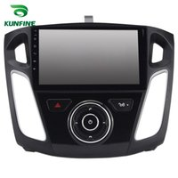 Wholesale Android Dvd Gps Ford - Quad Core 1024*600 Android 5.1.1 Car DVD GPS Navigation Player Car Stereo for Ford Focus 2012 Radio 3G Wifi BluetoothK KF-V2239Q