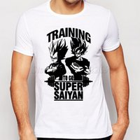 Compra Palla Di Drago Z Piccolo-Camping Escursionismo T-Shirts Super Saiyan New Fashion Son Goku Uomo T Shirt O-Collo Casual Famous Top The Dragon Ball Z Funny Tee