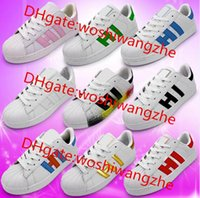 Wholesale Couple sports shoes Men Casual Shoes Superstar Female Sneakers superstar GOLD Women Zapatillas Deportivas Unisex Sapatos Femininos