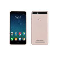 Wholesale Dual Sim Arabic Wifi Quad - LEAGOO KIICAA POWER Fingerprint Cell Mobile Phone 1280*720 WiFi Dual Camera 13MP Quad Core 2GB RAM 16GB Dual SIM 5.0inch Smartphone