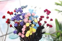 Wholesale 15 Head PE Little Rose Foam Home wedding and Festival Decoration Artificial Flower For