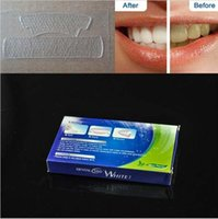 Wholesale 28 Strips Pouch Box Crest D Whitestrips Luxe Professional Effects White Whitening