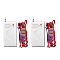 Wholesale Water Leak Alarm Sensor - LS111- 2pcs lot Wireless 433MHz Water leak sensor Intrusion Detector Work With kerui GSM Home Security Voice Burglar Smart Alarm