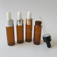 Wholesale Amber Glass Bottles 2oz - Wholesale- 24 x 15ml Amber Dropper Bottle, 1 2oz Brown Glass Dropper Container, 15cc Amber Glass Vials