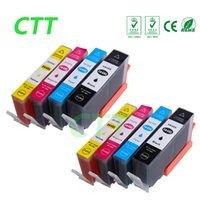Wholesale Wholesale Hp Cartridges - CTT 8PCS 364XL Ink Cartridges Compatible For HP Photosmart 6383 7380 7510 5320 5370 5373 5388 5393 6350 7520 e-All-in-One B8550