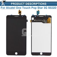 Großhandel - gute Qualität LCD + Touch für Alcatel One Touch Pop Star 3G OT5022 5022 5022X 5022D LCD Display + Touchscreen Digitizer