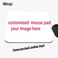 impresión de fotos grandes al por mayor-El cojín de ratón de gran tamaño de DIY crea para requisitos particulares, impresión del LOGOTIPO del cliente, impresión del cojín de publicidad, cumpleaños, boda, impresión conmemorativa de la foto del regalo