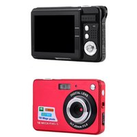 "Wholesale Digital Camera Lcd Display - Wholesale-2.7"" TFT LCD Display Digital Camcorder 18MP 720P 8x Zoom HD Digital Camera Camcorder Video Anti-shake high performance US Plug"