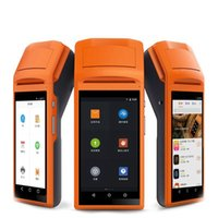 Wholesale Wireless Portable Thermal Printer - IPDA020 Android5.1 OS Portable thermal printer Thermal wireless bluetooth wifi Android PDA 3G Food Distribution
