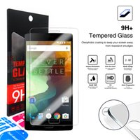 Wholesale One X Screen - 9H 2.5D Oneplus 3 3T 5 one two Screen Protector Oneplus two 2 1 Tempered Glass for Oneplus One Plus 3 3t 5 X one two 1+1 with Retail-box
