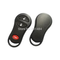 3 Botões Folding Remote Key Case Fob Replacement Flip Blank Keyless Car Key Shell para Chrysler Dodge Jeep Car Cover