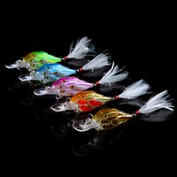 Wholesale Lure Group - 5-color 7cm 6.2g Group fish Hard Plastic Lures Fishing Hooks Fishhooks 3D Eyes Fishing Baits 8# Hook Artificial Pesca Tackle Accessories