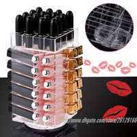 Wholesale BESTLIFE High Quality Acrylic Rotatable Lipstick display L115mmx W115mmxH mm