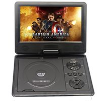 Wholesale Dvd Game - Wholesale- Original 9 Inch portable DVD player with rotatable screen, game and TV function, use at home, car, support CD player, MP3 MP4