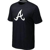Wholesale Men Baseball Tee S - Cheap Atlanta Braves Baseball Short Sleeves T Shirts Big&Tall Logo Fashion Baseball Tees Shirt Cotton O-Neck T-shirt