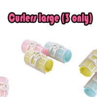 Wholesale Hair Rollers Pins - Factory direct sale bang roll pin curls letter plastic rollers curly hair curlers tool industry large high temperature resistant plastic res