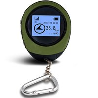 Wholesale Mini Handheld Keychain Mini GPS Navigation USB Rechargeable For Outdoor Sport Car Travel