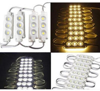 Wholesale outdoor advertising lights for sale - Group buy 500pcs Led Modules led K Cool White SMD SMD v RGB LED Chip Wateproof IP67 R G B Warm White Led Advertising outdoor Light