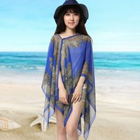 Wholesale Wholesale Red Sun Scarves - Women Shawl Scarf Wrap Women'S Scarf Long Shawl Spring Chiffon Infinity Silk Sun Scarves 160cm Beachwear