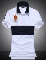 sports polo shirt design - Mens Polo Casual T shirt Brand American Polos Design Cotton T Shirts for Boys shark Sport T Shirt M XXL