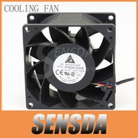 Wholesale Delta Electronics - Free Shipping For Delta Electronics FFB0812SHE 80mm DC12V 0.87A Server Cooling Fans Server Square Fan 3-wire 80x80x38mm