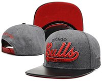 Wholesale Grey Bulls Snapback - 2017 new Men's Women's Bulls Basketball Snapback Baseball Snapbacks chicago Football Hats Man Sports Hat Flat Hip Hop Caps Thousands Styles