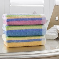 Wholesale Rainbow Heaven - Wholesale and retail high quality New 100% cotton face towel soft household towels Rainbow heaven towel towel 33*70cm