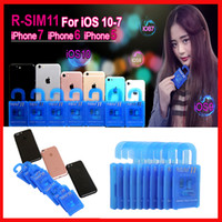 Wholesale R SIM RSIM11 r sim11 rsim unlock for iPhone plus iOS ios7 x CDMA GSM WCDMA SB AU SPRINT G G