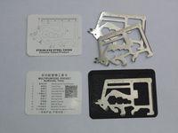 11 araç kartı toptan satış-11 in 1 matador sabre kartları Taşınabilir çakı kredi kartı aracı açık survival bıçak Kamp survial araçları