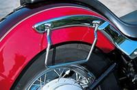 Wholesale Honda Saddle Bags - 22cm Saddle bag Support Bars Mounts Brackets For Kawasaki Honda Yamaha Suzuki Harley