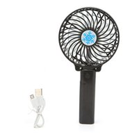 Wholesale Usb Mini Air Conditioner - 5 Colors Mini Portable Handheld Fan Cooler Cooling USB Rechargeable Air Conditioner Portable USB Foldable Fan