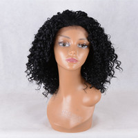Wholesale 22 Vogue - Best Seller Vogue Wig New style Best selling Women wig lady medium long Synthetic Hair High temperature Female Curly lace front Wigs