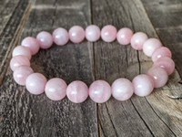 ingrosso reiki rosa al quarzo-Bracciale in quarzo rosa Bracciale in quarzo rosa malaghe Bracciale in Reiki rosa 8mm