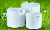 Wholesale Hot Grow - LLFA hot Option Non-Woven Fabric Reusable Soft-Sided Highly Breathable Grow Pots Planter Bag With Handles Cheap Price Large Flower