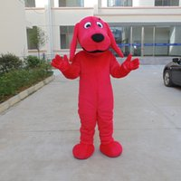 mascot costumes custom made teddy bear big ears red doggie super lovely dog mascot costume adult