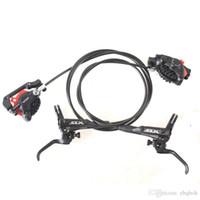 Wholesale Brake Slx Disc - Shimano slx m7000 bicycle hydraulic disc brake set mtb front & back with g02s resin m675 pads upgrade