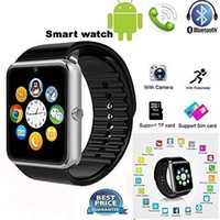 Wholesale Sounding Female - GT08 Smart Watch Call Reminder Men Sports Watches Built-in Camera Sound Recorder Smart Watches For Android Phones IOS Smartwatch
